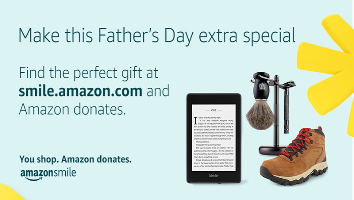 AmazonSmile for Father's Day