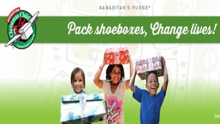 Operation Christmas Child Shoebox Drop-off