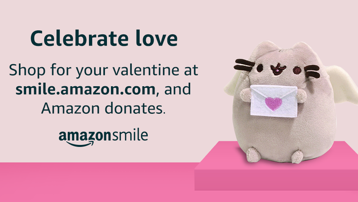 AmazonSmile for Valentine's Day