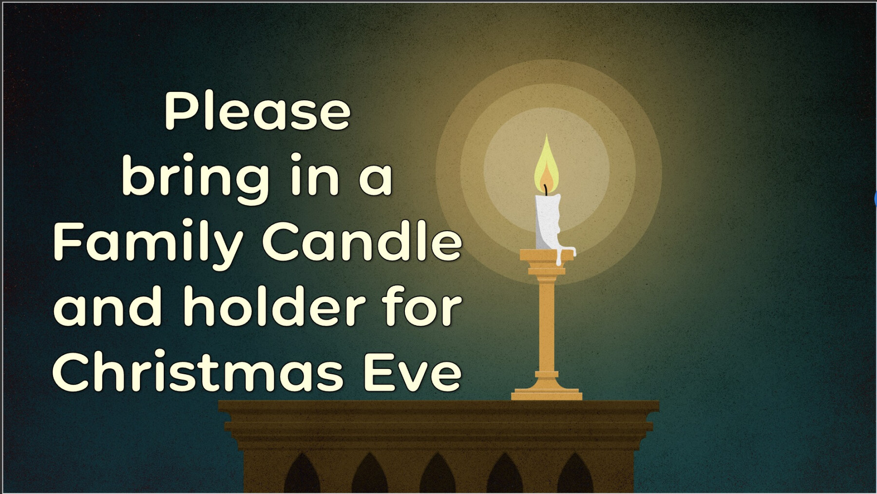 Candles for Christmas Eve