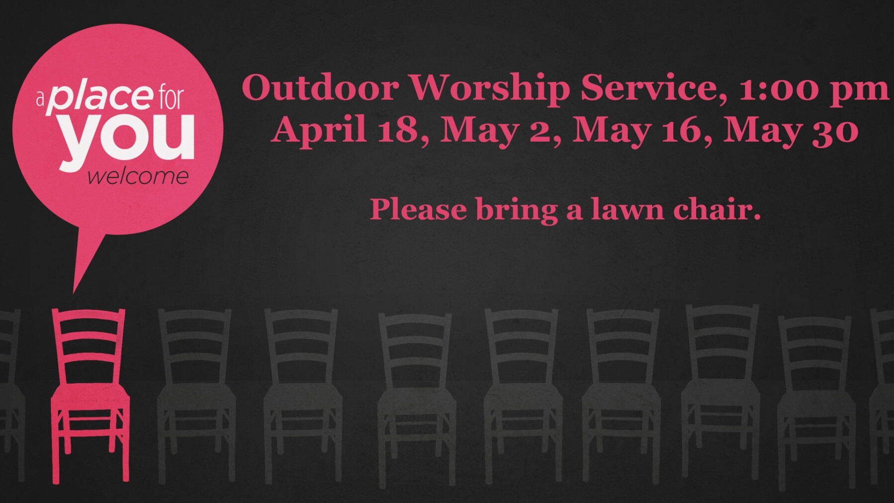 Outdoor Worship Services